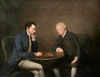 Arthur Devis (circle of) - Two Men Playing Chess