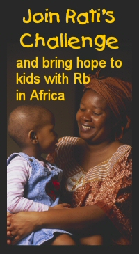 Find out how Rati's legacy is bringing hope to children with eye cancer in Africa
