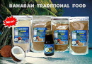 Banaban Traditional Food range including Coconut Sugar, Coconut Syrup, Coconut Flour, Coconut Organic Crunch