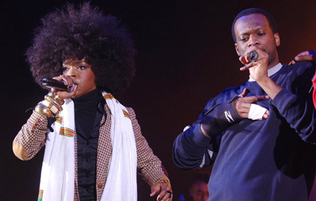 Three piece icons - The Fugees