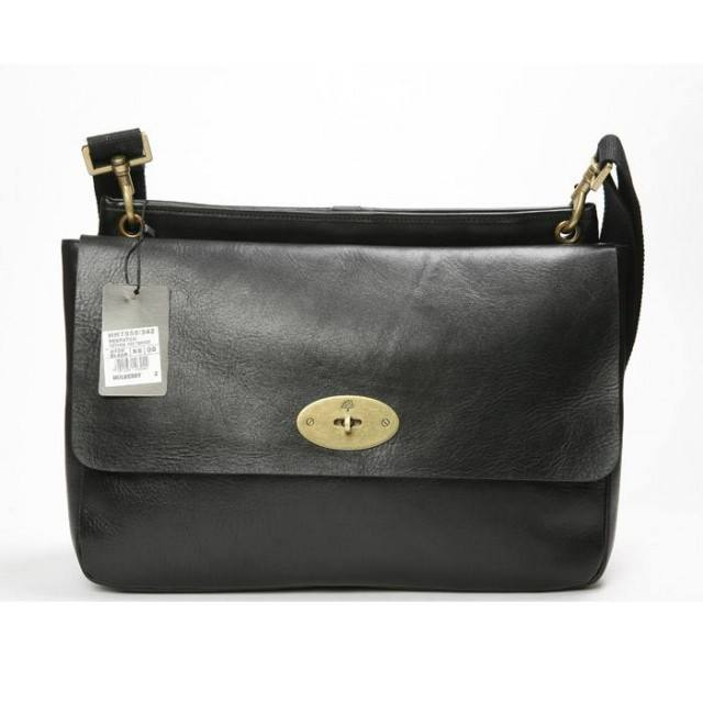 Mulberry Calf Soft Messager bags black 015