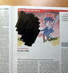censored magazine cover