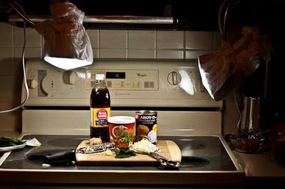 Food Photography: Lights For Night Time Shooting