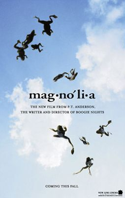 Magnolia. Watch out: Falling Frogs