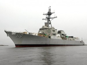William P. Lawrence (DDG 110) construction