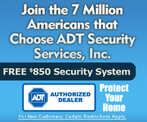ADT Security Alarm Home Systems
