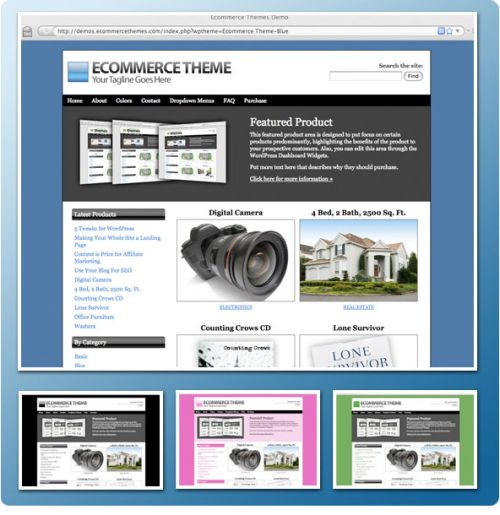Ecommerce Theme by iThemes