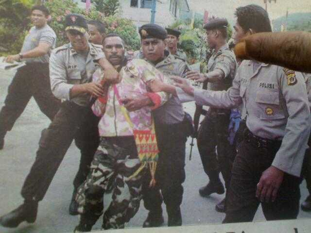 Indonesia police arrested 26 of West Papua on peaceful rally.