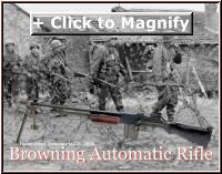 Browning Automatic Rifle infantry patrol first 1st 1d division big red one