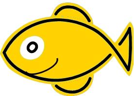 Happy Fish Live in a Earthquake Secured Aquarium