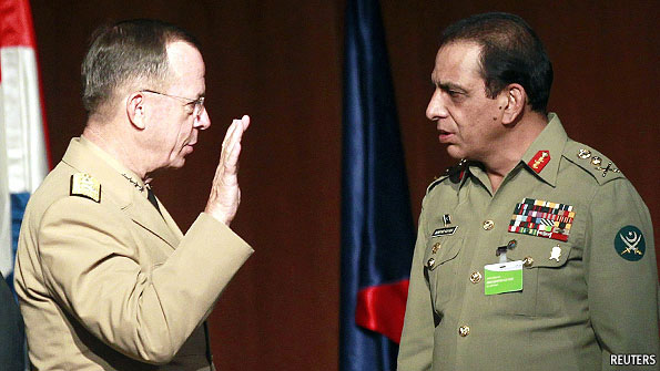 Admiral Mike Mullen and General Assfaq Kayani America and Pakistan Relationship Challenges