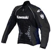 Ladies Kawasaki Jet-Z Textile Jacket (Black)