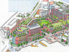 Wheaton Redevelopment Concept Drawing
