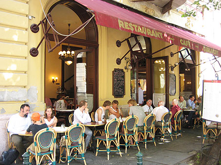 Cafe Gerloczy Restaurant in Budapest Downtown close to Vaci utca