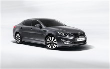 The Kia Optima has won awards for its stylish design.