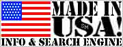 logo for the made in the usa search engine website