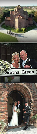 Gretna Green weddings arranged by Gretna Green Wedding Services