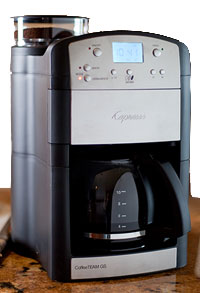 coffee maker with grinder from Capresso is an ideal coffee making machine.