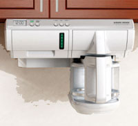 under counter coffee makers are space savers.