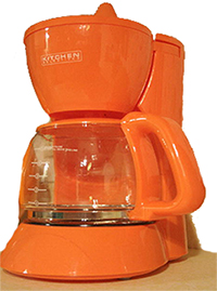 automatic drip coffee makers come in great colors!