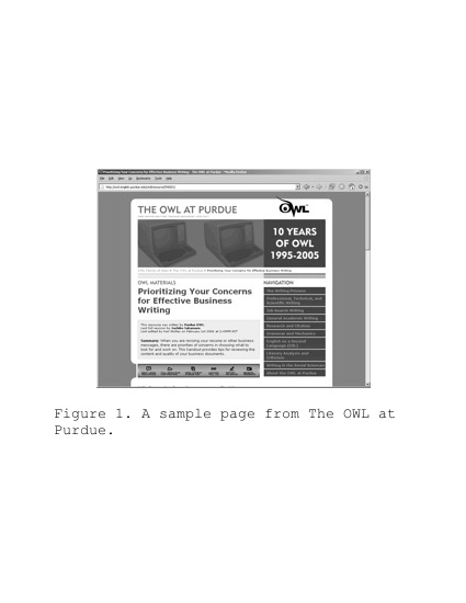 A simulated APA-style page showing a figure and caption.