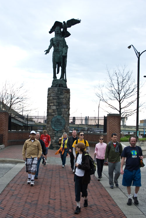 tamanend, native americans, walking across us, philadelphia, peace