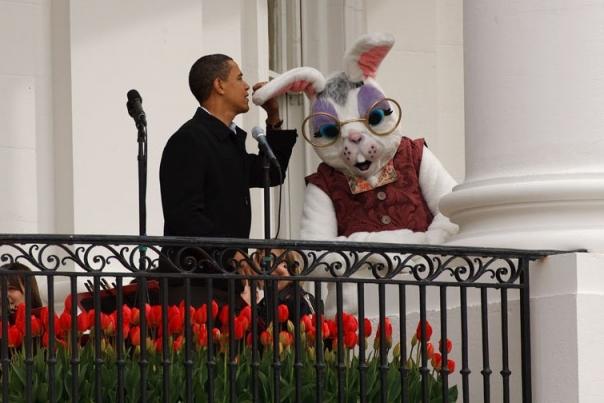 Easter Bunny Ear Microphone