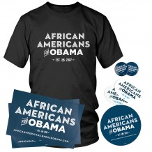 African Americans for Obama Party Pack