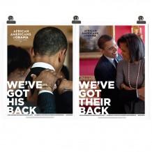 Got His Back Poster Set