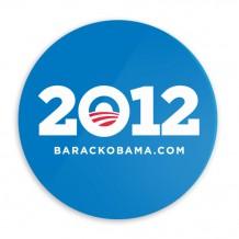 Obama 2012 Car Magnet