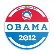 Obama Retro Car Magnet