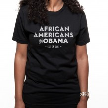 African Americans for Obama Tee
