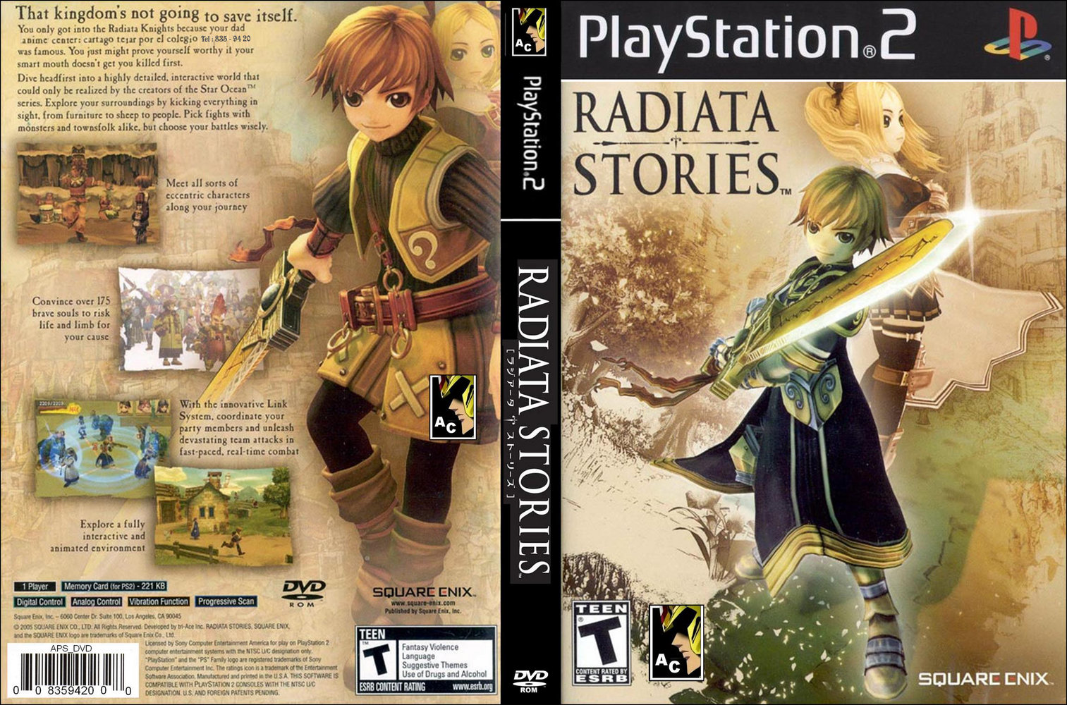 The Gaming Archive – Radiata Stories