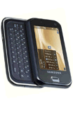 Samsung F700 3G SmartPhone Open View