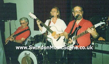 Adrian (far right) in Specs, 1989.