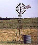 Energia eolica para moinhos de vento de extracção