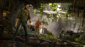 Uncharted 3 game screenshot