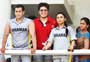 Salman at Aamir Khan's son Junaid's celebrity cricket match