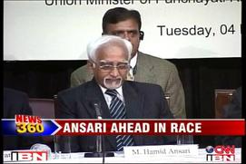 President poll: Hamid Ansari leads the race