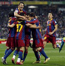 El barcelona elimina al arsenal inglés de la champions