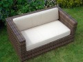 Arizona 2 seater Outdoor Chair Cushion - Rattan Garden Furniture