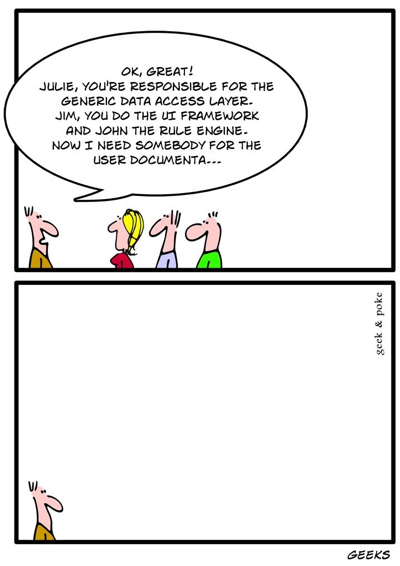 Geeks and Documentation