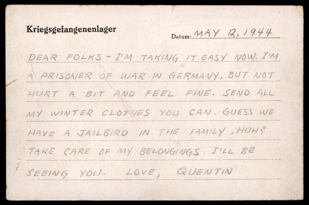 POW postcard, May 12, 1944. (NSHS RG5694.AM)