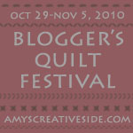 Amy's Creative Side - Blogger's Quilt Festival