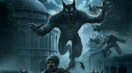 Kos Ule Picture  (2d, fantasy, night, werewolf, horror)