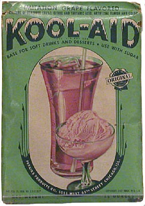 Kool-Aid, a favorite summer drink of Depression-era youngsters, was developed by Hastings inventor Edwin Perkins. NSHS Permanent Collection
