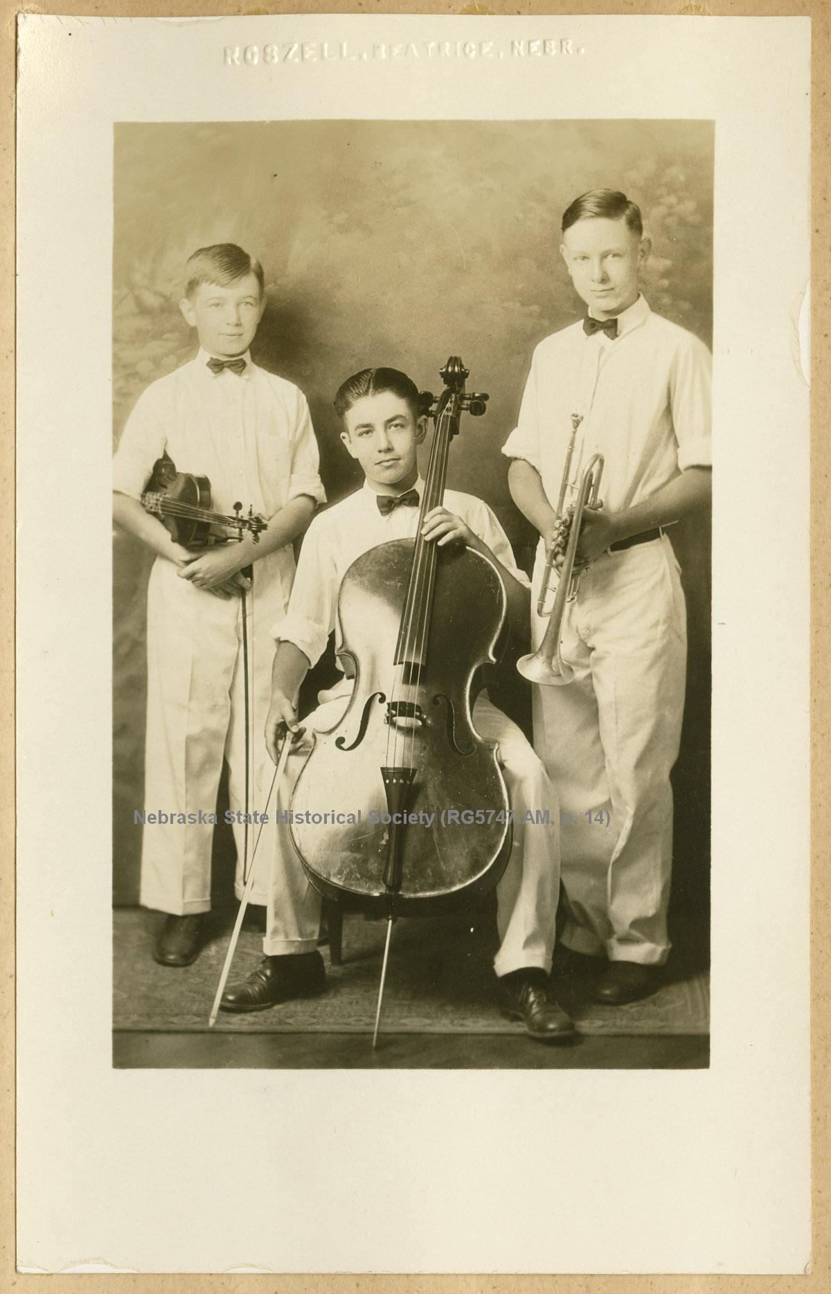 Concert Trio with Donald Abbott and Arlington Brugh (RG5747.AM, p. 14)