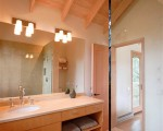 Small Guest House with Simple Design Bathroom interior