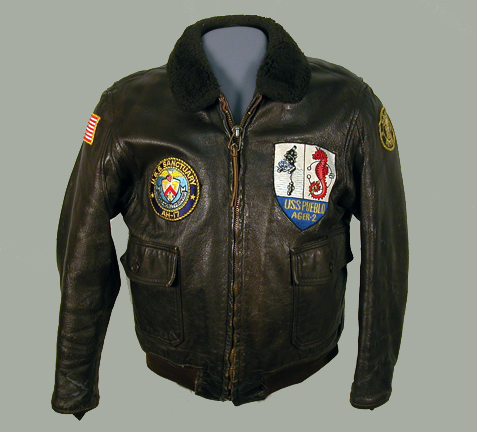 Sterling's leather jacket.
