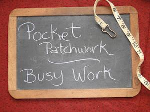 Pocket Patchwork Sewalong
